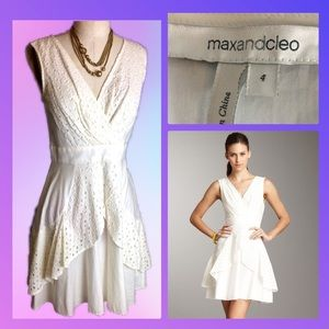 """Max and Cleo """"Suzy"""" Style Cotton Dress size 4"""
